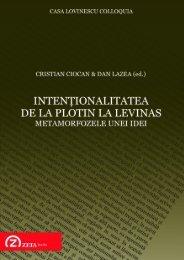 Intentionalitatea de la Plotin la Levinas - ZETA Books