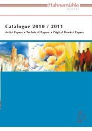 Catalogue 2010 / 2011