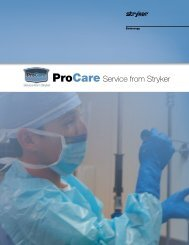 ProCare Service from Stryker