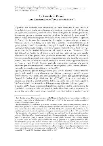 """La formula di Erone: una dimostrazione """"poco ... - flaviamarcacci"""
