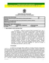 PARECER CNE/CEB nº 11/2000 - Ministério da Educação