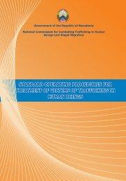 Standard Operating Procedures for treatment of ... - Legislationline