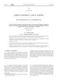 Parecer 2013/C 76/05 - Instituto de Gestão do Fundo Social Europeu