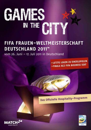 FIFA FrAuen-WeltmeIsterschAFt DeutschlAnD 2011™