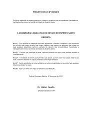 PROJETO DE LEI Nº 90/2010 - Assembléia Legislativa do Estado ...