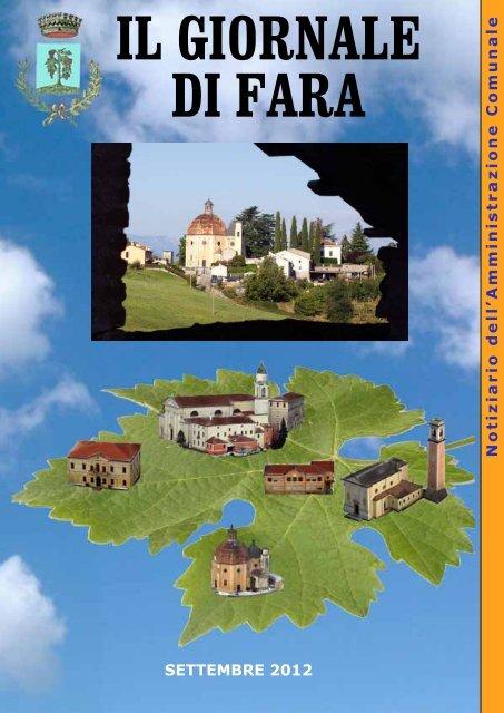 Edizione di settembre 2012 - Comune di Fara Vicentino