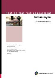 Indian myna pest risk assessment - Department of Primary Industries