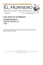 Lehmann-Nitsche, R.. - Biblioteca Digital FCEN UBA - Universidad ...
