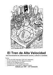 Tren de Alta Velocidad y sus consecuencias - N-1