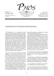 A proposito del Centiloquium pseudo tolemaico - Cielo e Terra