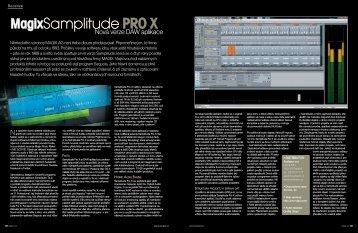 Recenze Samplitude ProX z časopisu Music-Store - Audiopro sro