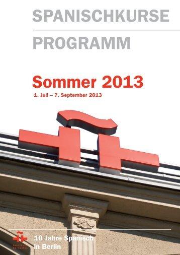 Programm (pdf) - Instituto Cervantes Berlin