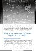 Prevención y reducción de la Apatridia. Convención para ... - Acnur - Page 5
