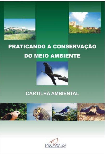 1 Cartilha Ambiental PROAVES www.proaves.org.br - Secretaria do ...
