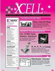 XCELL 17 Newsletter (Q2 95) - Xilinx