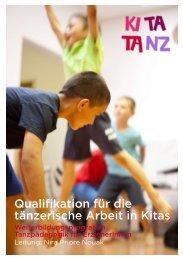 Qualifikation für die tänzerische Arbeit in Kitas - Crespo Foundation