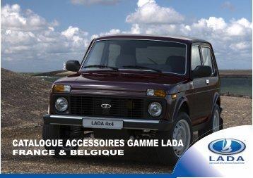 Télécharger le Catalogue des Accessoires LADA - Lada France