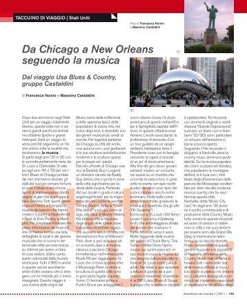 Da Chicago a New Orleans seguendo la musica - Viaggi Avventure ...