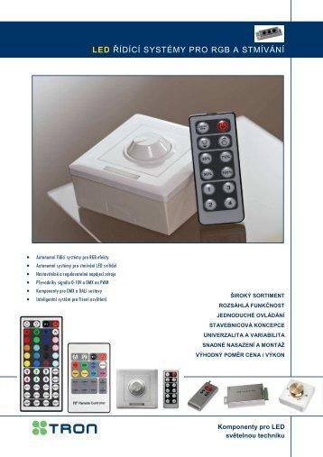 Systémy pro řízení LED