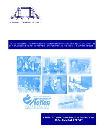 2006 ANNUAL REPORT - alamanceservices.org