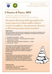 L'Ometto di Pietra 2010 - CAI Sezione di Napoli