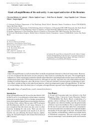 Giant cell angiofibroma of the oral cavity: A case report and review of ...
