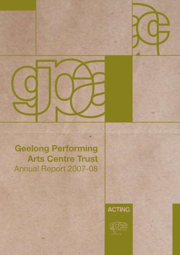 Download - Geelong Performing Arts Centre