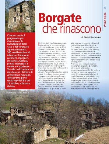Borgate - UNCEM Piemonte