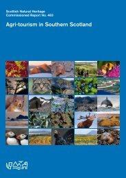 Agri-tourism in Southern Scotland - Scottish Natural Heritage