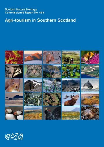Agri-tourism in Southern Scotland - Scottish Natural Heritage