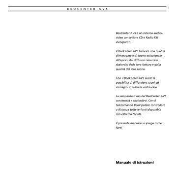 Manuale di istruzioni - Aerne Menu