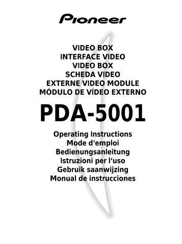 Pdp 502mxe Pda 5001