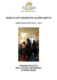 MUSEO DI ARTI DECORATIVE ACCORSI-OMETTO - Città di Torino