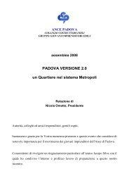 padova2punto0_relazione Nicola Ometto - Confindustria Padova