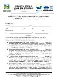 RAVVEDIMENTO OPEROSO IMU.pdf - Comunità montana Valle del ...