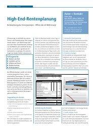 High-End-Rentenplanung - XPS-Finanzsoftware GmbH