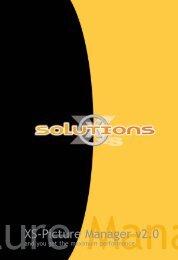 Download Handbuch zu XS-PictureManager deutsch - XS-Solutions ...