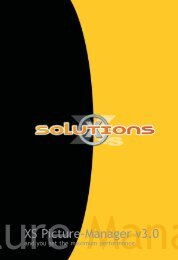 3. Working with the XS Picture-Manager - XS-Solutions GmbH