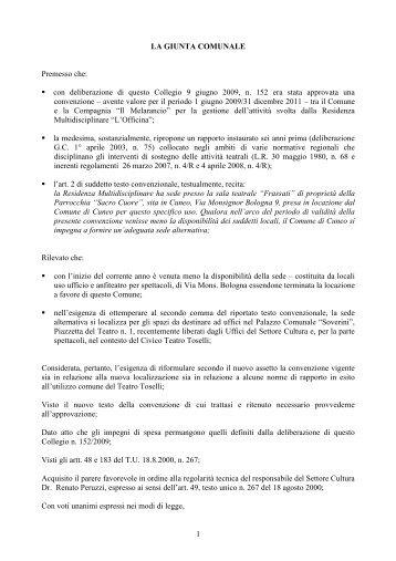 n. 136 del 25 maggio - Comune di Cuneo