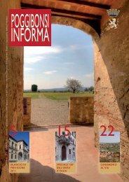 poggibonsiinforma n°4 - marzo 2011 - Comune di Poggibonsi
