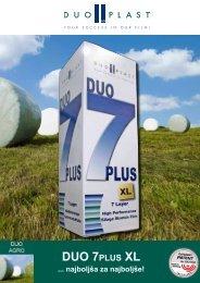 DUO 7PLUS XL ... najboljša za najboljše! - Duo Plast AG