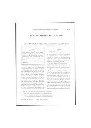 nörobruselloz: olgu sunumu - Ankara Üniversitesi Dergiler Veritabanı