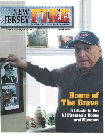 View Joshua Sigmund's article on the NJFH - New Jersey Firemen's ...