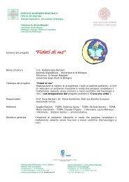 """Schema del progetto """"Fidati di me"""" Nome struttura U.O. Radioterapia ..."""