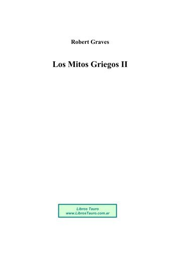 Robert Graves Los Mitos Griegos II - Future Website of libreriamasonic