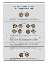 Coins auction - November 23, 2010 - Torino - Lots 1 - 443 - CoreTech