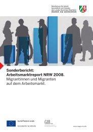 "Sonderbericht 2008: ""Migrantinnen und Migranten"