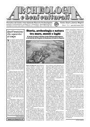 N. 1 di ABC (Gennaio/Marzo 2005) in PDF - CIRA Centro ...