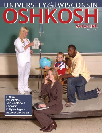 Fall 06 (pdf) - University of Wisconsin Oshkosh