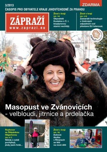 Masopust ve Zvánovicích - Zápraží